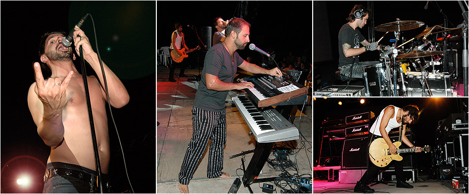 2009 pictures Ireon music festival Samos