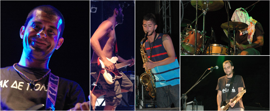 2011 pictures Ireon music festival Samos